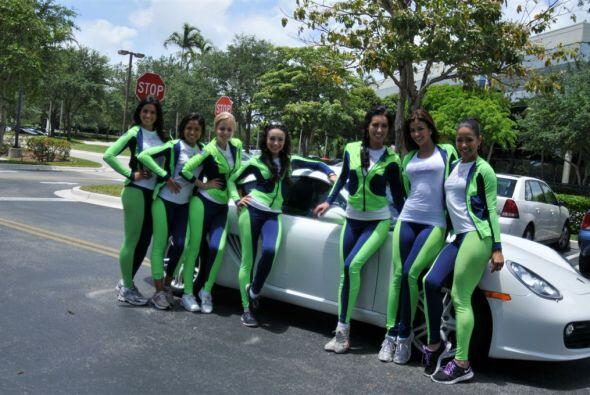 Las concursantes de Nuestra Belleza Latina 2012 pasaron por la oficina y...