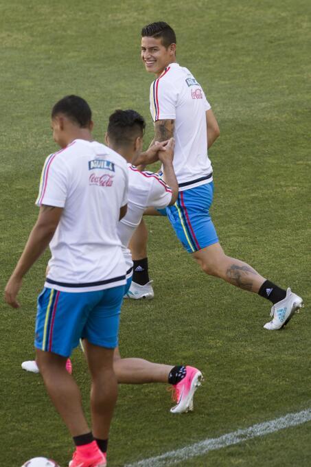 Colombia, el refugio de un James olvidado por el Real Madrid 63632375314...