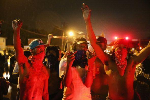 Las protestas por la muerte del joven afroamericano Michael Brown comenz...