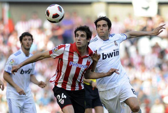 Real Madrid salió a enfrentar al Athletic de Bilbao con un equipo...