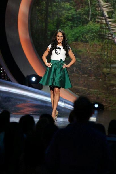 Leticia Laurenti del grupo de Julián sigue en la competencia.