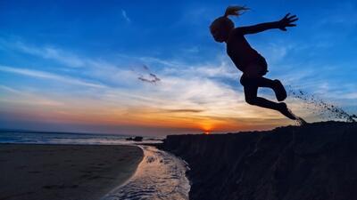 ¡Saltando sin parar!