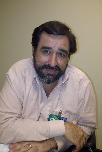 Edgardo Gonzalez, ayudante de la secretaria de Recursos naturales dice q...