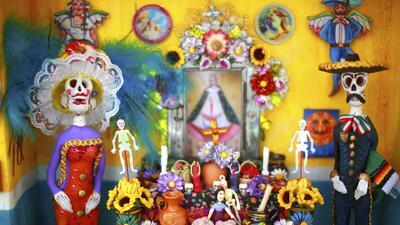Así se vivió la celebración del Día de los Muertos en el Museo Nacional de Arte Mexicano