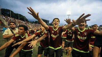 La Vinotinto Sub20 fue recibida como héroes en Caracas, en medio de la agitación del país