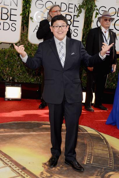 Rico Rodriguez, protagonista de 'Modern Family', también se dio cita, y...