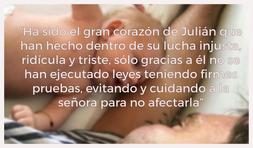 La más dura carta de la hermana de Julián Gil a Marjorie de Sousa.