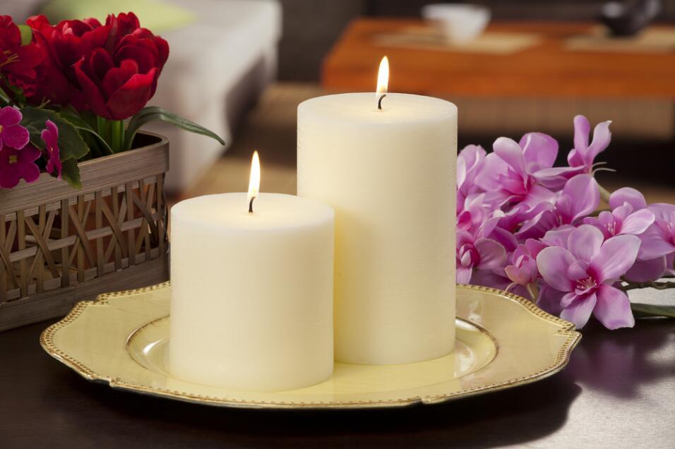 velas blancas