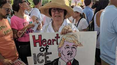 En fotos: Washington DC, el centro de las protestas contra la política migratoria de Trump