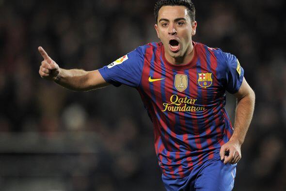 El tiro del '6' del Barcelona marcó el 2-0 que ya resultaba contundente...