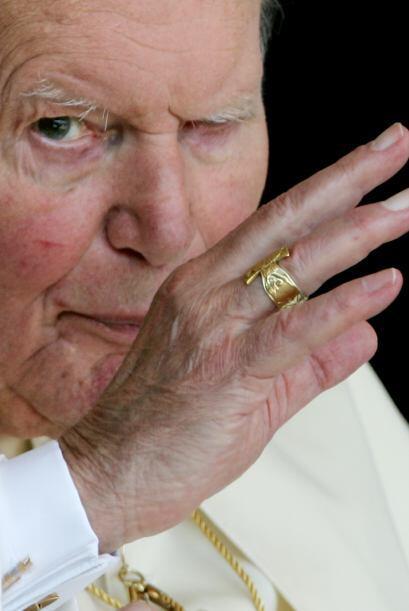 El Papa se vio al borde de la muerte el 13 de mayo de 1981 cuando fue he...