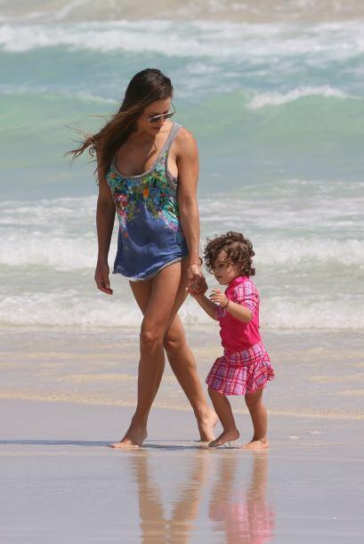 Lola y su amada hija.