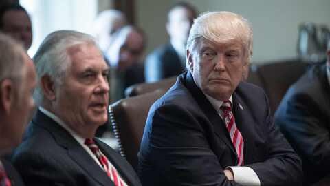 No importa lo que pueda haber dicho Tillerson, Trump asegura que &eacute...