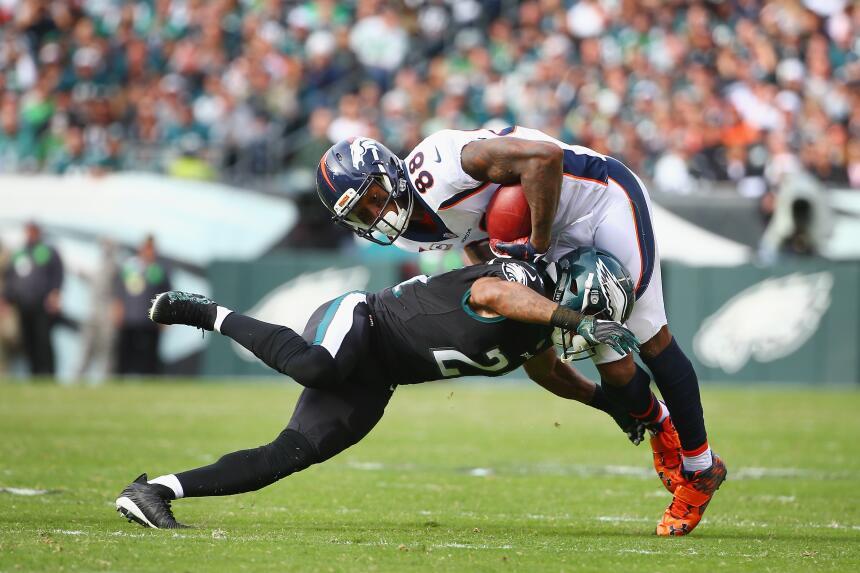 Los Eagles propinan paliza a Broncos y están imponentes en la NFL demary...
