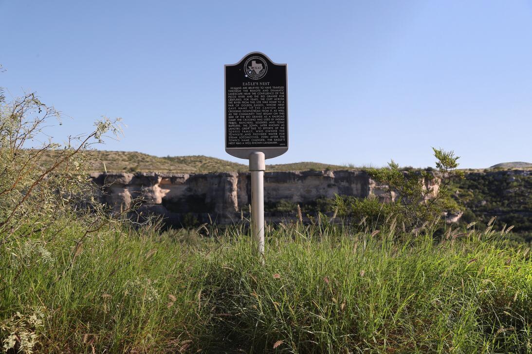 Langtry Rio Pecos y Rio Grande