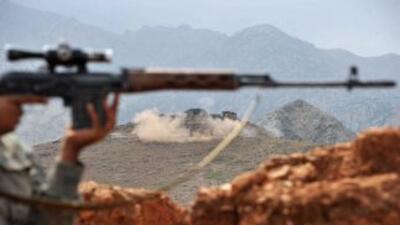 Entre 80 y 100 civiles y miembros de las fuerzas de seguridad afganas mu...