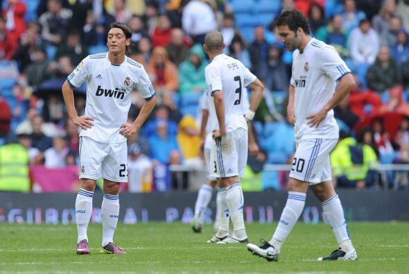 El final del partido mostró a un Real Madrid sin consuelo.