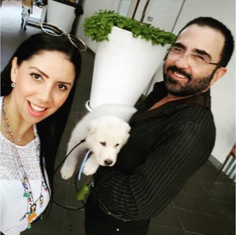 Vicente Fernández Jr y Katya Ortegón