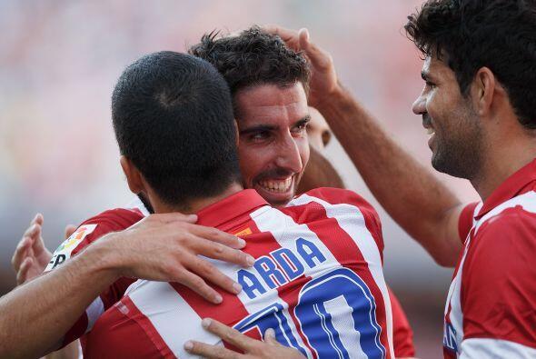 Raúl García ponía el 1-0 pese a no ser un jugador de marcadas caracterís...