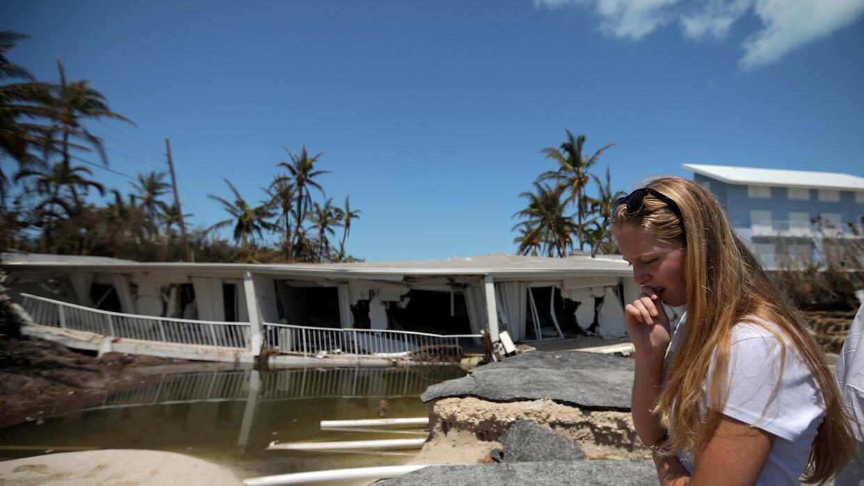 Una residente se lamenta por el estado en el que ha quedaod su casa en I...