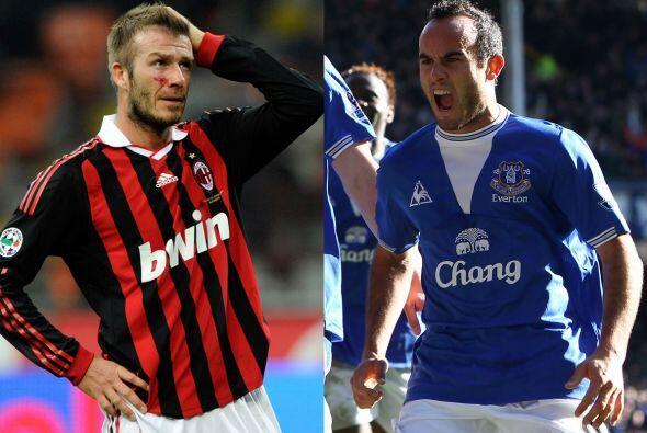 La MLS también fue 'representada por Europa con David Beckham y Landon D...