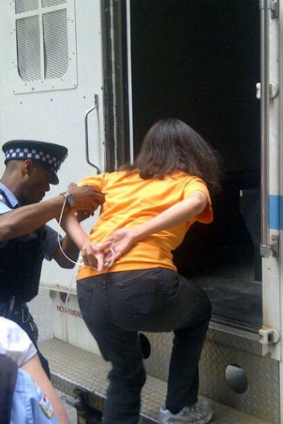 Arrestos por desobediencia