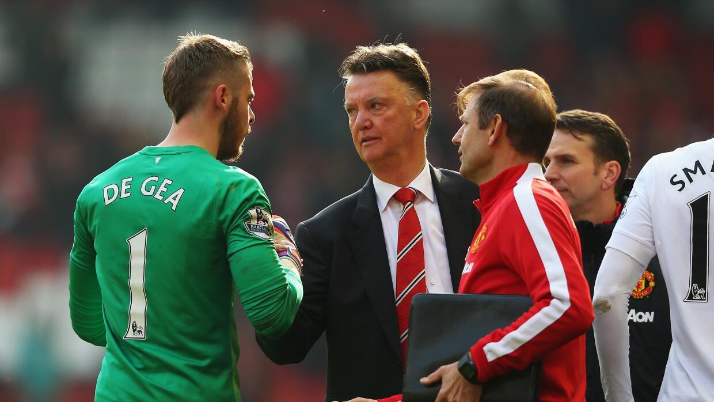 El entrenador del Manchester United confía en permanencia de De Gea.
