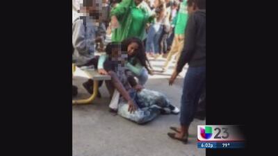 Jovencita apuñala estudiante en escuela de Kendall