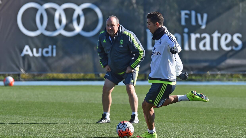 El entrenador del Real Madrid rechazó que Ronaldo esté lesionado