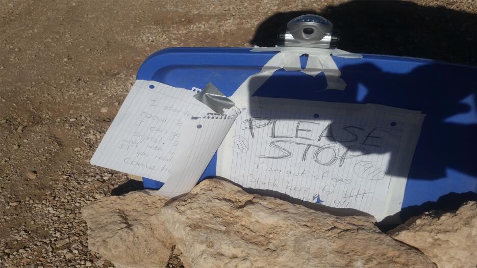 Mujer perdida en el norte de Arizona es rescatada por las autoridades Po...