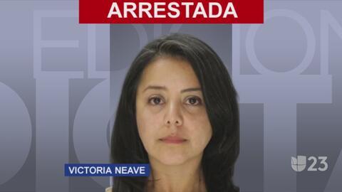 Victoria Neave es arrestada por manejar intoxicada