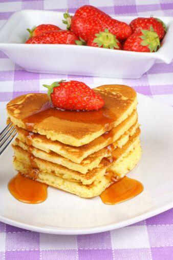 Otra receta bastante fácil de realizar son los deliciosos 'pancakes'. Co...