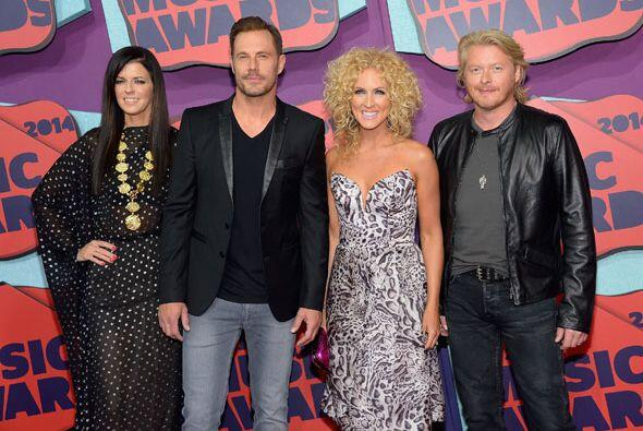 Los integrantes de Little Big Town.Mira aquí los videos más chismosos.