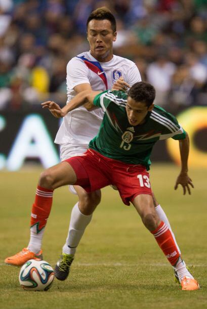 Diego Reyes reapareció con la Selección Mexicana tras su espantosa actua...