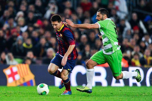 Salió a media hora del final y Messi, poco a poco, fue midiendo sus sens...