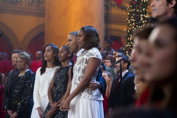 En su mensaje, Barack Obama habló de la importancia de la lección de est...
