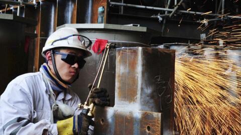La producción y exportación de acero y aluminuio de China...