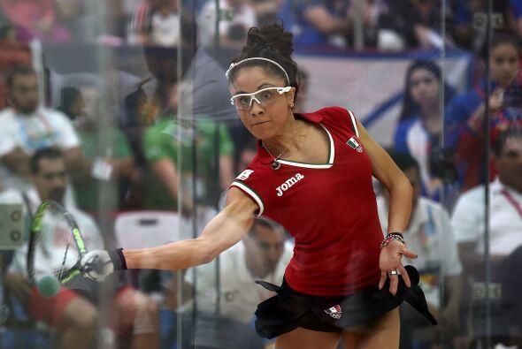 Las mexicanas Paola Longoria y Samantha Salas triunfaron en la modalidad...