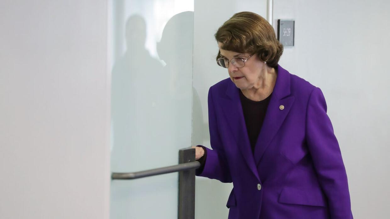 La senadora por California Dianne Feinstein.