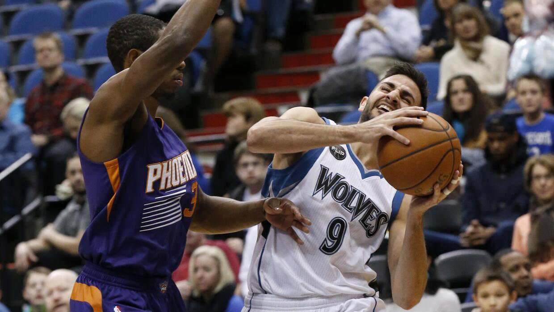 Ricky Rubio y Andrew Wiggins aportaron 18 puntos por cabeza.