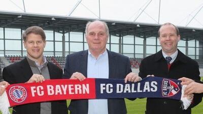 """FC Dallas en un socio ideal"", asegura directivo del FC Bayern Munich tr..."