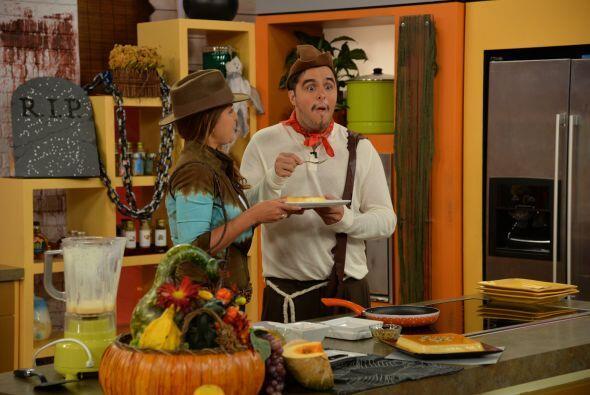 Para que disfrutes de un dulce Halloween, en la cocina la Chef Doreen Co...