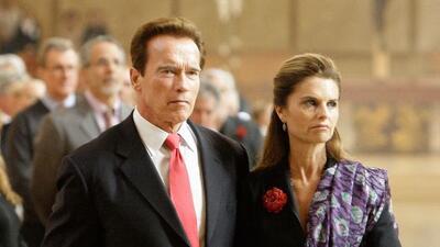 El ex gobernador de California Arnold Schwarzenegger reconoció que tuvo...