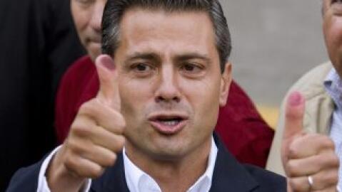 La popularidad del presidente Enrique Peña Nieto está en s...
