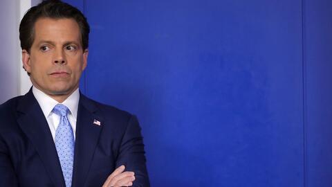 El inversor y donante republicano Anhony Scaramucci asumió este viernes...
