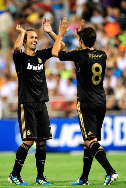 Kaká disputó algunos minutos y les sacó provecho con una gran jugada ind...