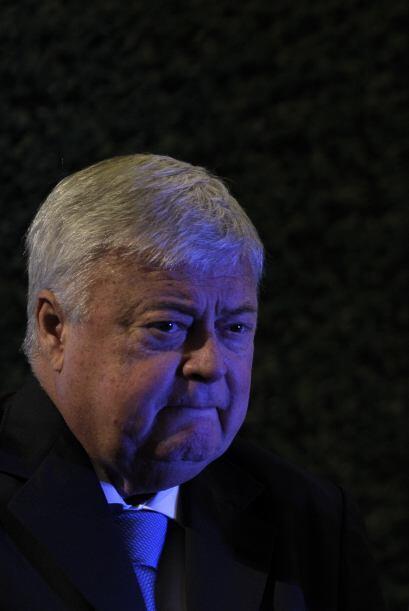 El Presidente de la Confederación Brasileña de Fútbol, Ricardo Texeira,...