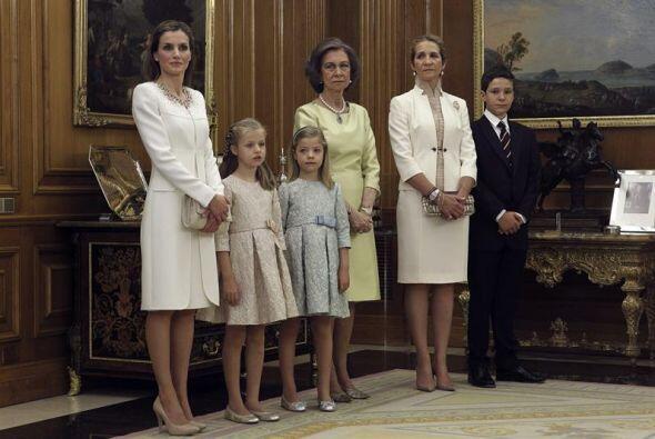 También estuvieron la reina Sofía, la infanta Elena (que n...