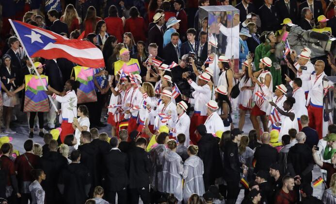 Desfilaron los países latinomericanos en la inauguración de Río 2016