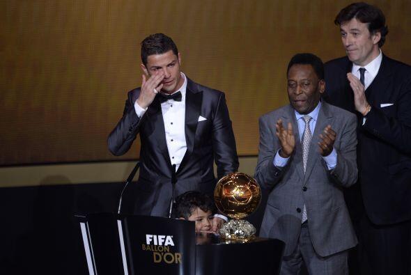 La emoción invadió al portugués, quien nos dio otro momento de lágrimas...